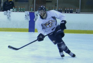Ryan Ellis at Nashville Predators Training Camp
