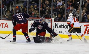 The Columbus Blue Jackets of the Central Division face Calgary