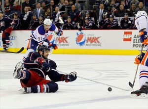 Central Division bottom-feeders, the Columbus Blue Jackets