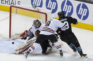 Central Division: Chicago Blackhawks at San Jose Sharks