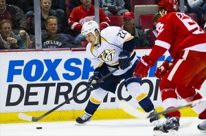 Former Nashville Predators forward Jordin Tootoo