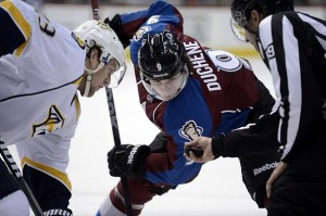 Duchene scored in the Avalanche's last game against the Nashville Predators