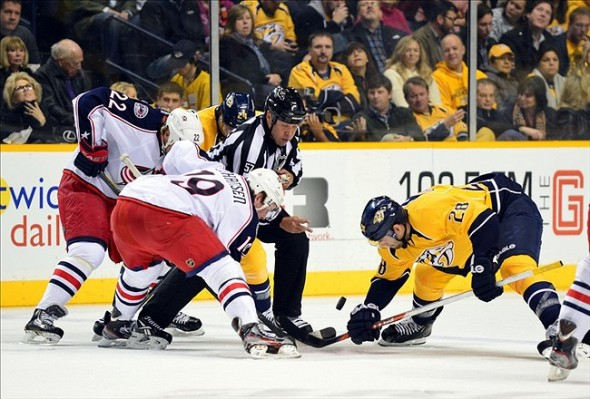 How often will the new NHL faceoff rule cost teams like Nashville in crucial spots?