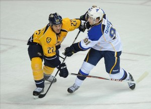 Central Division: St. Louis Blues at Nashville Predators