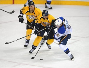 The St. Louis Blues are on Week 3 of the Nashville Predators schedule