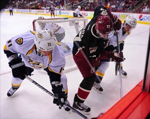 Phoenix Coyotes take on the Central Division's Nashville Predators