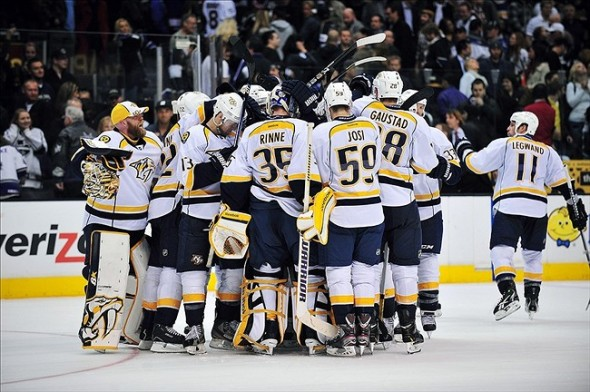 A big shootout win for the Nashville Predators