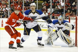 Central Division rivals Detroit and St. Louis