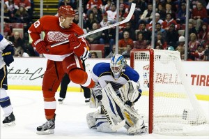 Brian Elliott will face the Nashville Predators
