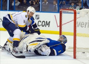 "The Nashville Predators run a ""modified Major League"" strategy"