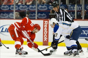 Central Division rivals Detroit and St. Louis play tonight