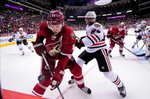 Central Division powers the Chicago Blackhawks crushed Phoenix