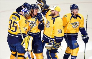 The Nashville Predators are currently in second place in the Central Division