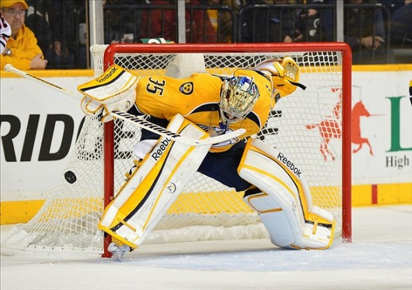 Even when he's perfect, Pekka Rinne still needs the Nashville Predators to score