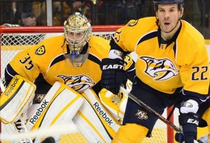 Pekka Rinne, Central Division top goalie