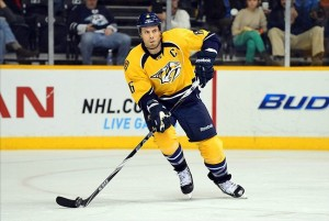 Nashville Predators captain Shea Weber