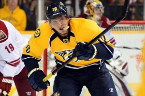 Nashville Predators forward Martin Erat
