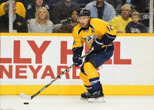 Nashville Predators center Mike Fisher