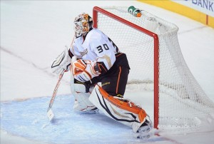 Anaheim goalie Vikor Fasth has defeated the Nashville Predators twice