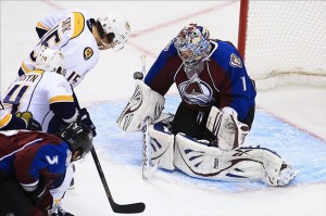 Colorado beat the Nashville Predators 6-5