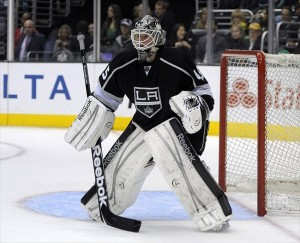 Los Angeles Kings goalie Jonathan Bernier has owned the Nashville Predators