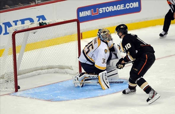 NHL: Nashville Predators at Anaheim Ducks