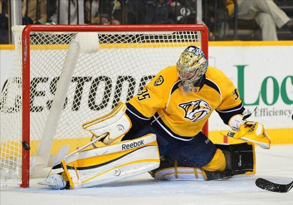 NHL: Phoenix Coyotes at Nashville Predators