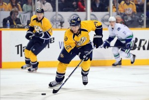 Nashville Predators forward Matt Halischuk