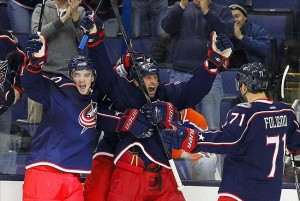 NHL: Edmonton Oilers at Columbus Blue Jackets
