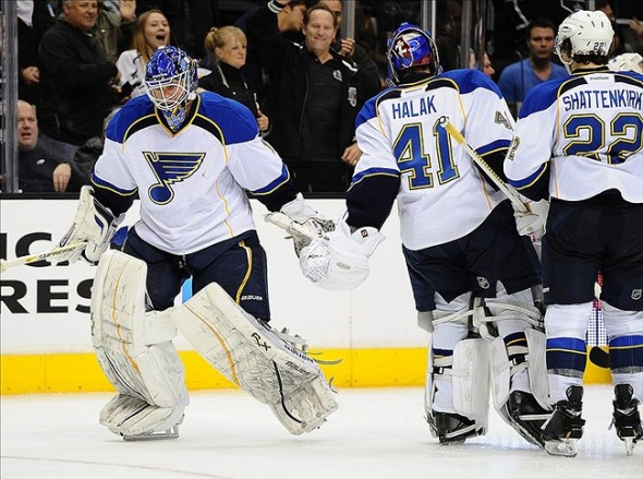 The St. Louis Blues are second in the NHL Central Division after 24 games