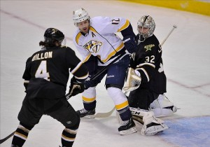 Nashville Predators forward Mike Fisher