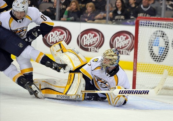 NHL: Nashville Predators at Dallas Stars