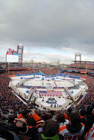 The Winter Classic, the original outdoor NHL games