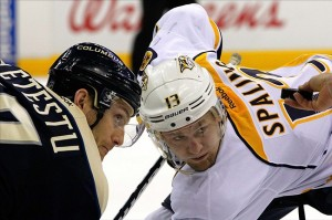 Nashville Predators restricted free agent Nick Spaling