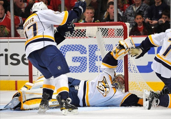 NHL: Nashville Predators at Chicago Blackhawks