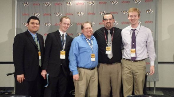 13-14 Preds Media Contingent. Credit: Martel's phone, maybe?