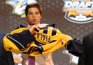 With these new Draft Lottery changes, the Predators could be able to land another talent like Kevin Fiala. Credit: Bill Streicher-USA TODAY Sports