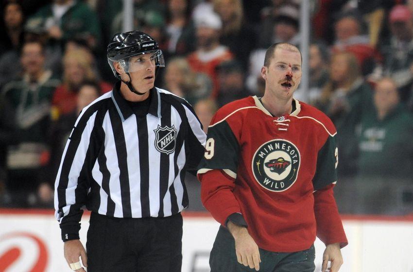 Wild Hockey Fight