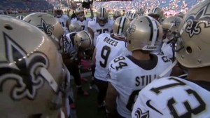 Expect Drew Brees and company to pummel the Bills. (Photo courtesy of the Sporting News)