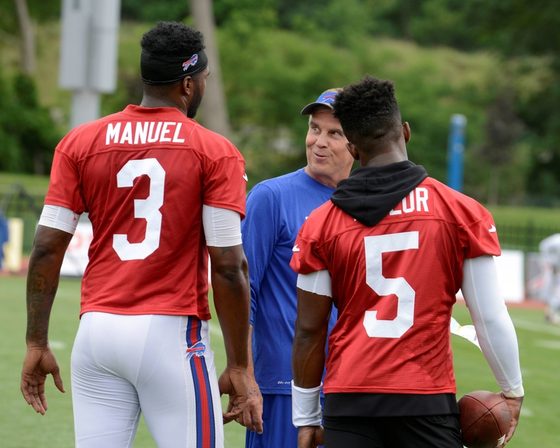 Buffalo Bills Backup QB Battle