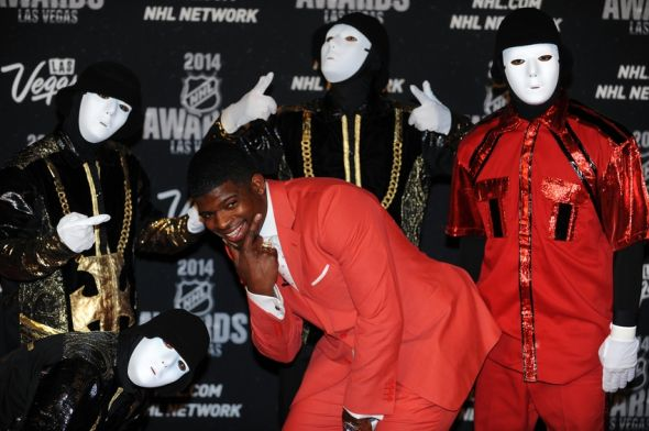 Subban smiling with JabbaWockeeZ