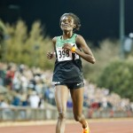 Sally Kipyego, 1st women's 5k