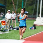 Allison Stokke, 2nd place women's pole vault