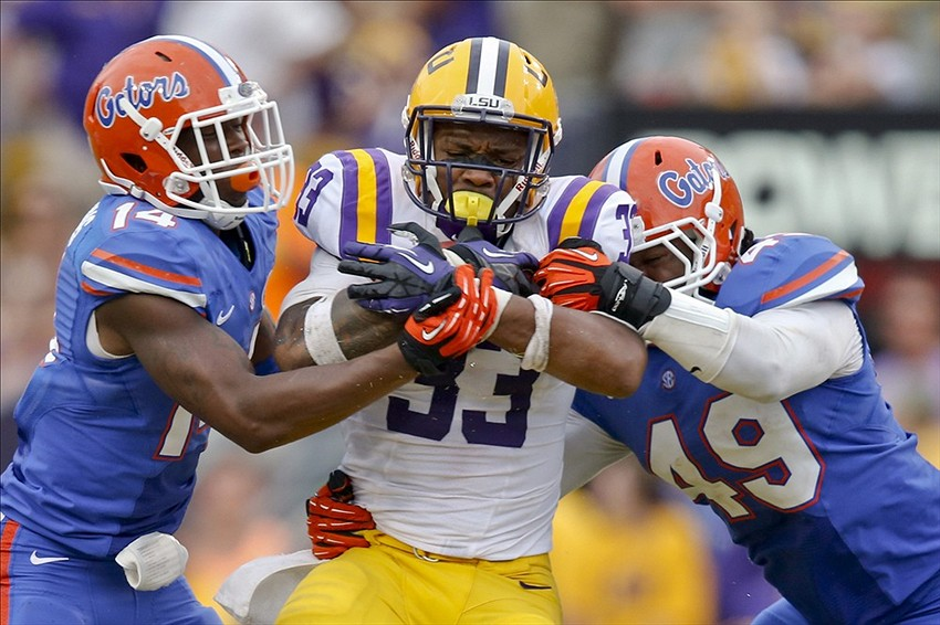 LSU running backs