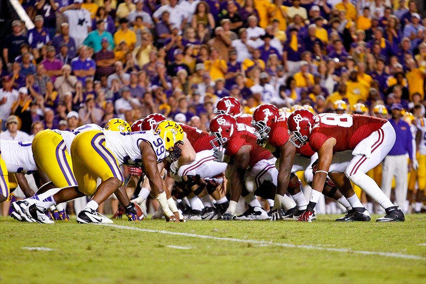 LSU at Alabama