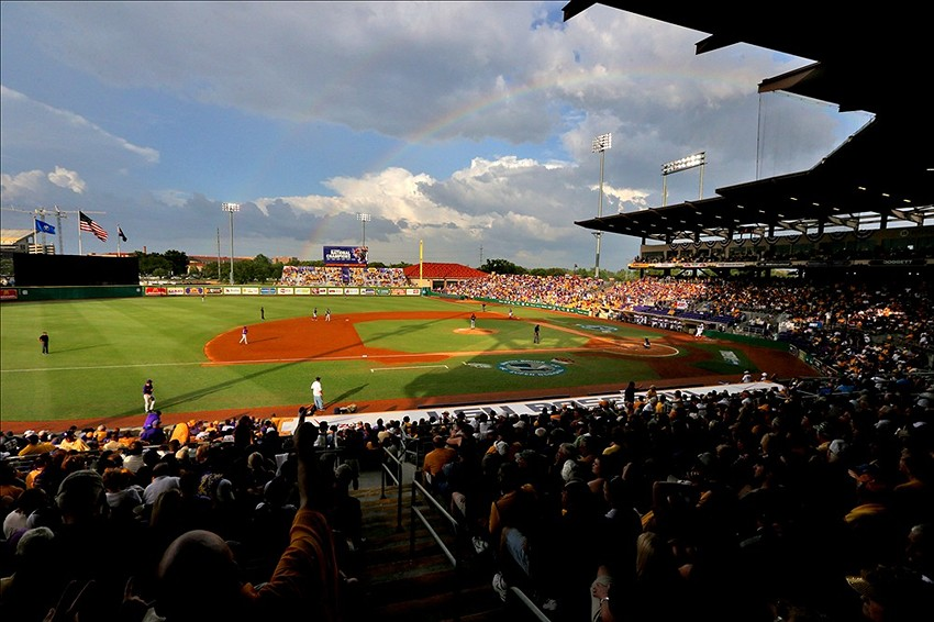 LSU Tigers-Alex Box Stadium
