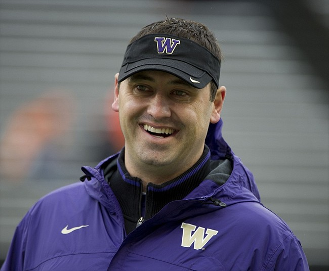 Nov 19  2011  Corvallis  OR  USA  Washington Huskies head coach Steve    John Ross Football