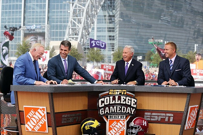 espn college gameday when are the football playoffs