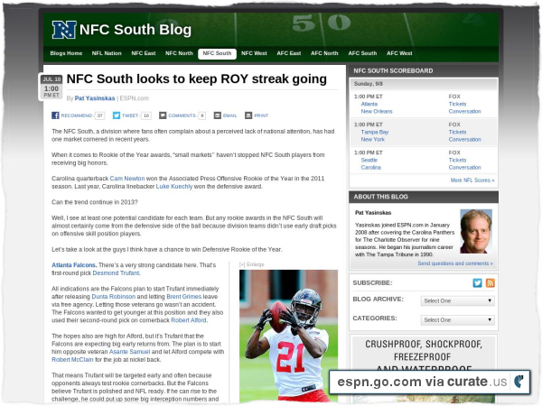 Clipped from http://espn.go.com/blog/nfcsouth/post/_/id/49034/nfc-south-looks-to-keep-roy-streak-going