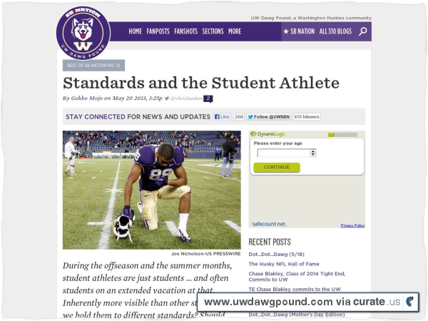 Clipped from http://www.uwdawgpound.com/2013/5/20/4347988/standards-and-the-student-athlete